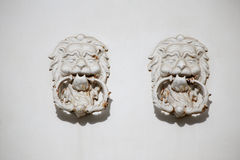 Vintage door knobs. Couple of Vintage door knobs Stock Photos