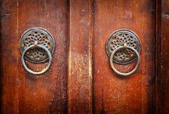 Vintage door knockers Stock Images