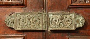 Vintage door lock Stock Photos