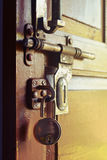 Vintage door lock Stock Photography