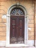 Vintage door. Old italian door Royalty Free Stock Image