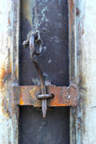 Vintage door - old wood door Royalty Free Stock Images