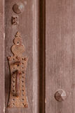 Vintage door plate Royalty Free Stock Images