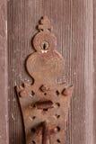 Vintage door plate Stock Image