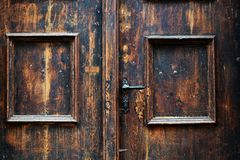 Vintage door Royalty Free Stock Photography
