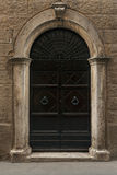 Vintage door in Tuscany Stock Image