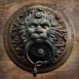 Vintage doorknocker Stock Photo