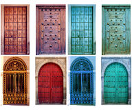 Vintage Doors Stock Photo