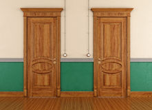 Vintage doors Royalty Free Stock Photography