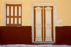 Vintage doors and window Stock Photography