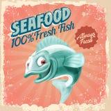 Vintage dos peixes Imagens de Stock
