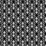 Vintage Dots Balls Wallpaper Seamless Pattern. Black and white vintage dots and ball shapes seamless background pattern. Abstract texture wallpaper Stock Images
