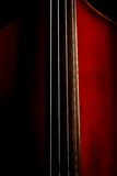 Vintage double bass Royalty Free Stock Photography