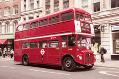 Vintage double decker bus Royalty Free Stock Photo