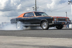 Vintage drag car Stock Photography