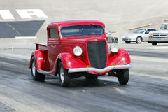 Vintage drag truck Royalty Free Stock Photo