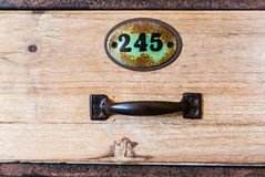 Vintage drawer Stock Photo
