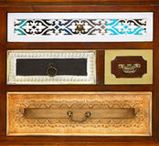 Vintage Drawers Royalty Free Stock Photos