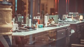 Vintage Drawers Wooden Dressing Table royalty free stock photography