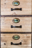 Vintage drawers Royalty Free Stock Photography
