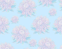 Vintage drawing of flowers Royalty Free Stock Image