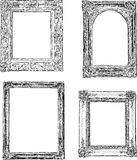 Vintage drawn frames Royalty Free Stock Photos