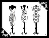 Vintage dress Stock Photo