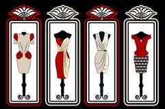Vintage dress Stock Image