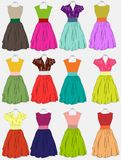 Vintage dress background Royalty Free Stock Photo