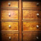 Vintage dresser Stock Image