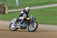 Vintage Ducati bike royalty free stock photos