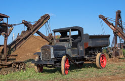 Vintage Dump Truck Royalty Free Stock Photo