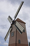 A vintage dutch wind mill Royalty Free Stock Photography