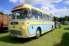 Vintage 1961 A.E.C Reiance bus. Stock Image