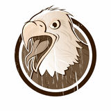 Vintage eagle sign Royalty Free Stock Image