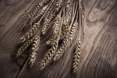 Vintage ears of wheat Stock Photo