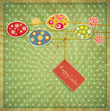 Vintage Easter background Stock Photography