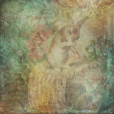 Vintage easter background Royalty Free Stock Photo