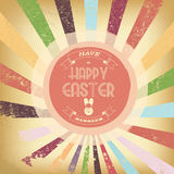 Vintage easter card Royalty Free Stock Image