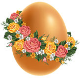 Vintage Easter egg Stock Image