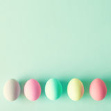 Vintage Easter Eggs Royalty Free Stock Photography