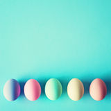 Vintage easter eggs Stock Images