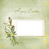 Vintage Easter frame Royalty Free Stock Images