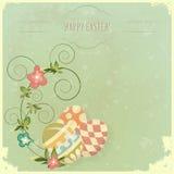 Vintage Easter greeting card stock illustration