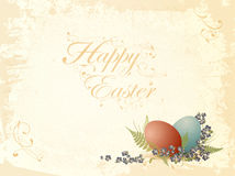 Vintage Easter greetings Stock Image