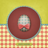 Vintage Easter postcard Royalty Free Stock Images