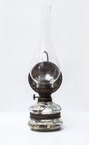 Vintage Eastern Europe gas lamp front view Stock Photography