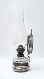 Vintage Eastern Europe gas lamp side view Stock Image