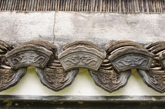 Vintage eaves. Chinese old style Stock Image