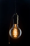 Vintage Edison type bulb Stock Images
